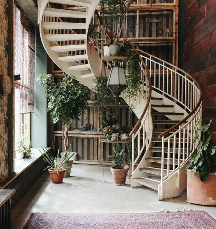 escalier-moderne-superbe-design-escalier-hélicoidal