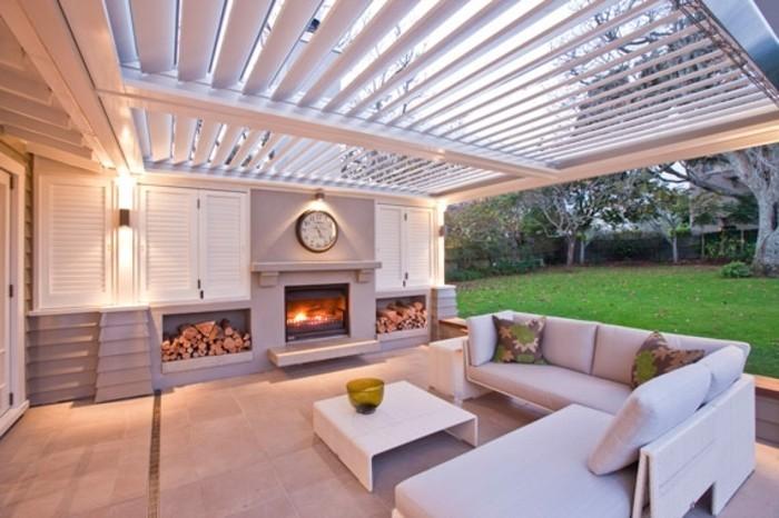 pergola-aluminium-super-luxueuse-décor-en-blanc