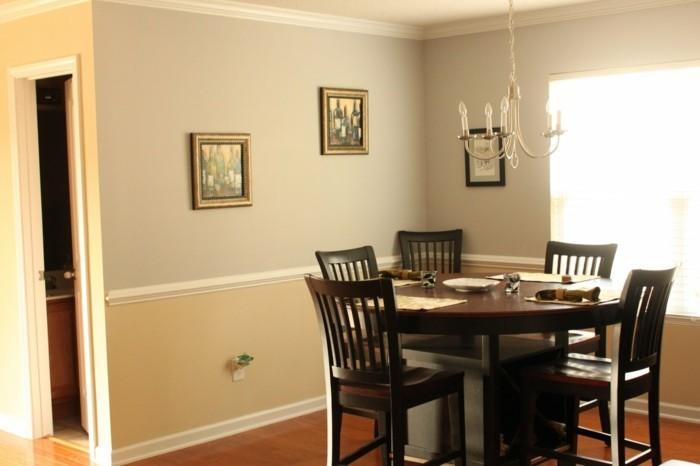 deco-salle-à-manger-couleur-beige-ambiance-élégante-chaises-et-table-en-bois