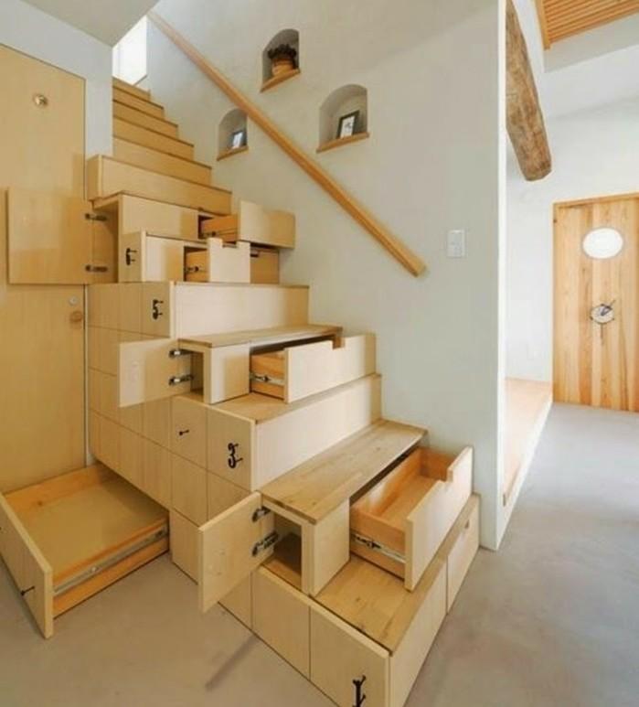 escalier-moderne-design-escalier-en-bois-espace-de-rangement-dans-les-marches