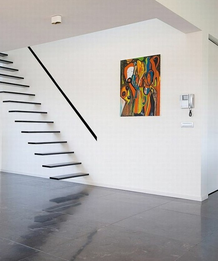 escalier-moderne-escalier-suspendu-design-génial