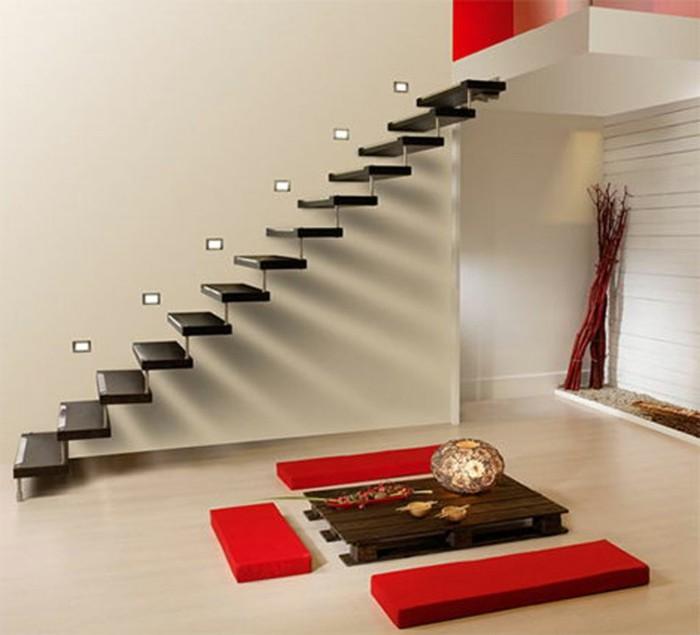 escalier-moderne-escalier-suspendu-en-noir