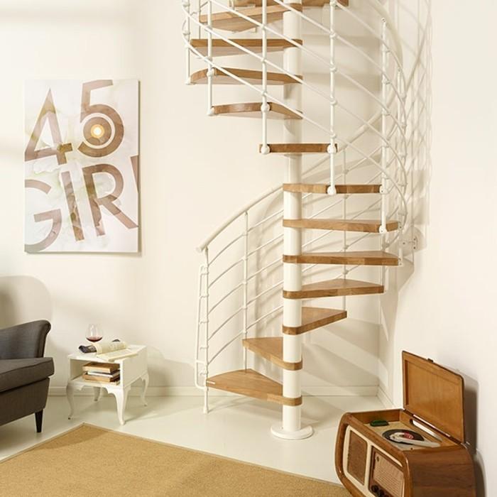 escalier-helicoidal-gain-de-place-modele-simple-et-pratique-balustrade-en-acier-marches-en-chêne