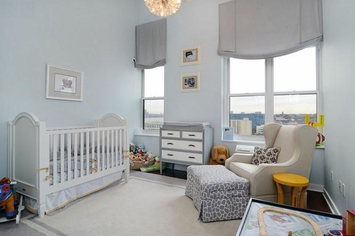 Couleur Peinture Chambre Garçon : La peinture chambre bébé idées sympas