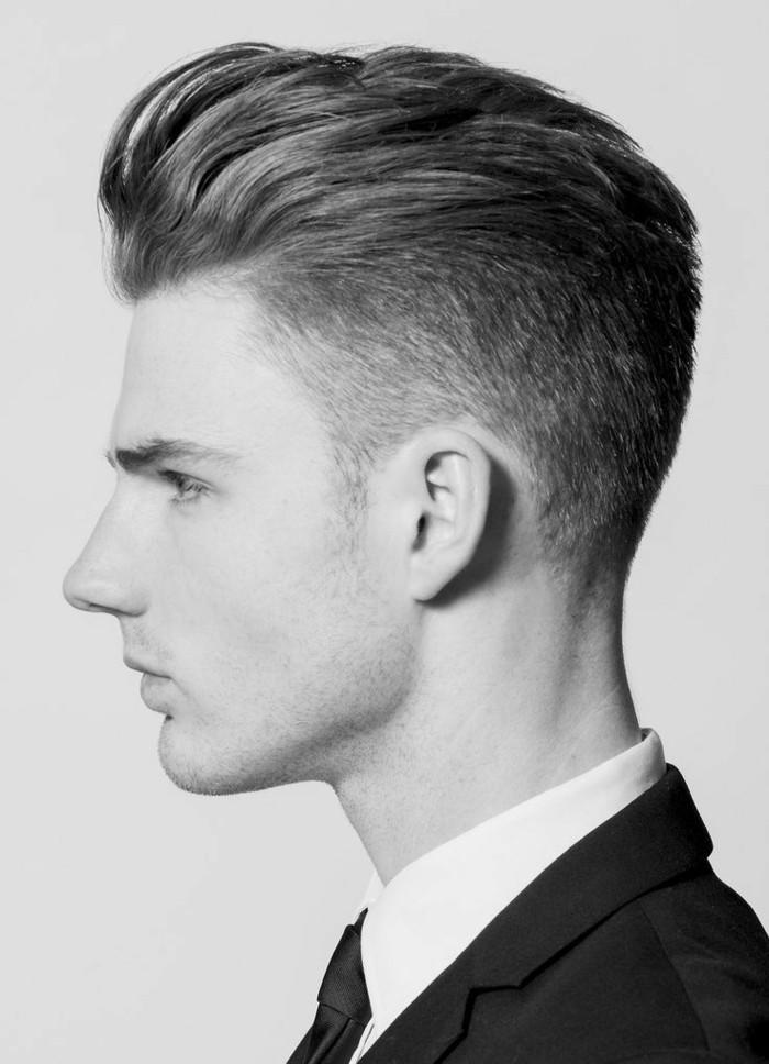 coupe de cheveux court homme  coiffure homme milong