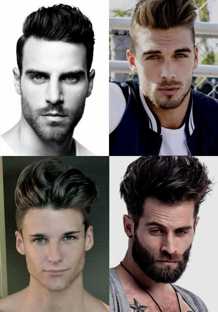 Coupe de cheveux homme pour visage triangulaire