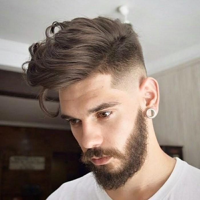 coupe de cheveux homme , coupe de cheveux mi,long Coupe de cheveux homme  comment choisir selon la forme de votre visage