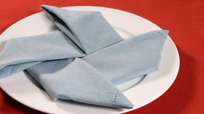 pliage de serviette pour noel  pliage serviette noel facile