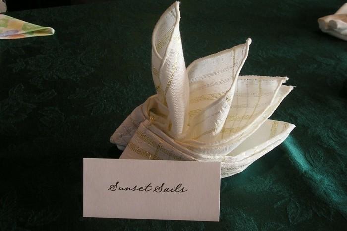 Pliage de serviettes en papier pour noel meilleures for Pliage serviette papier pour noel facile