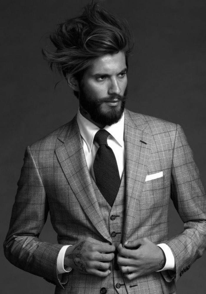 achat-cravate-prix-cravate-tenue-chique-noir-et-blanc