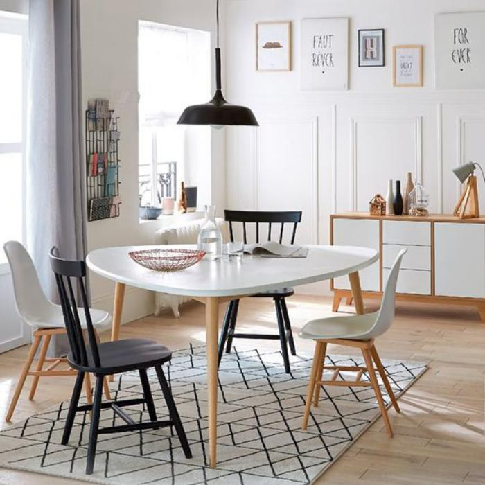 Table salle a manger scandinave meilleures images d for Salle manger scandinave