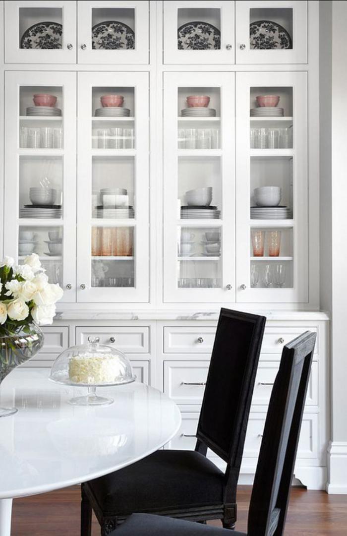 buffet-de-salle-à-manger-vaisselier-blanc-pour-salle-à-manger