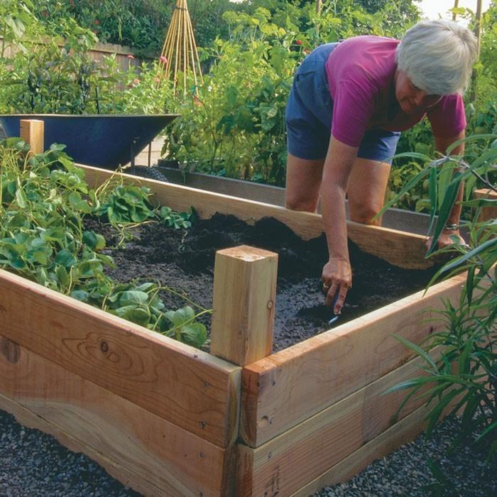Cr er un carr potager dans son jardin conseils et id es en 50 photos - Potager en carre que planter ...