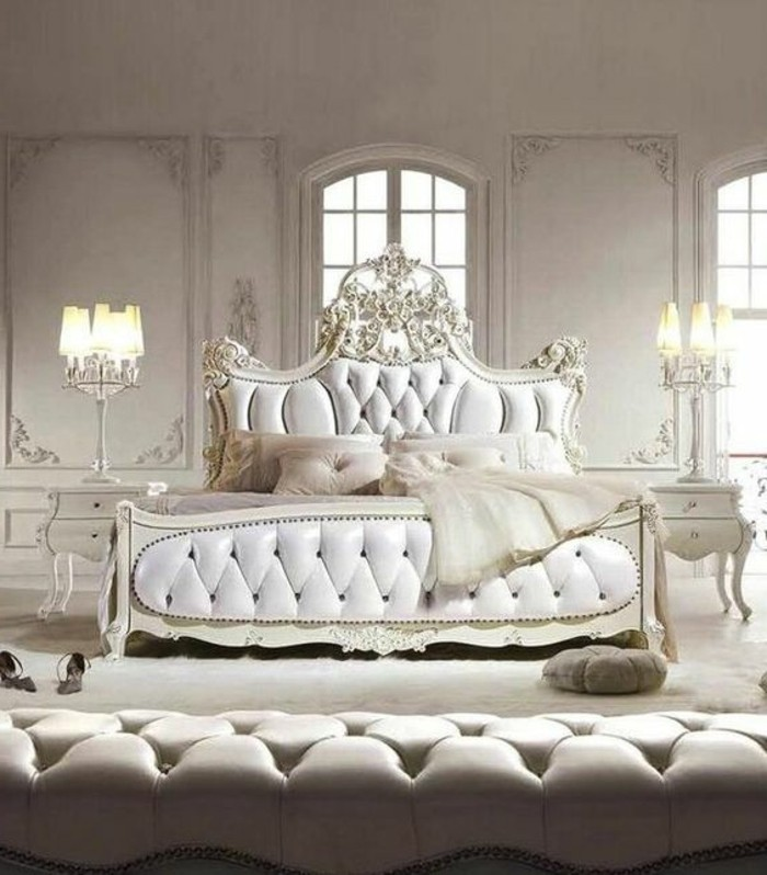 d coration chambre baroque romantique. Black Bedroom Furniture Sets. Home Design Ideas