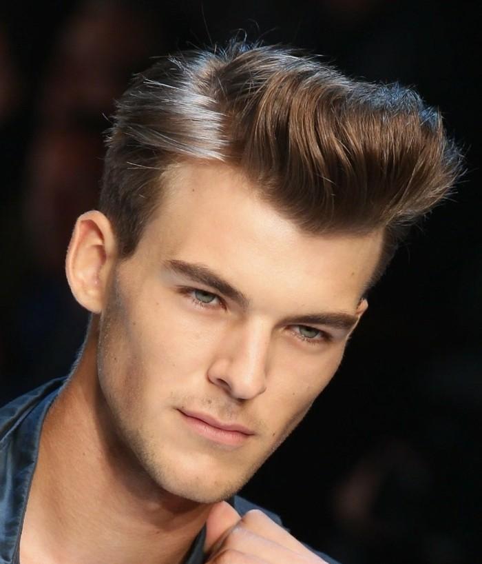 coiffure homme cheveux epais raides