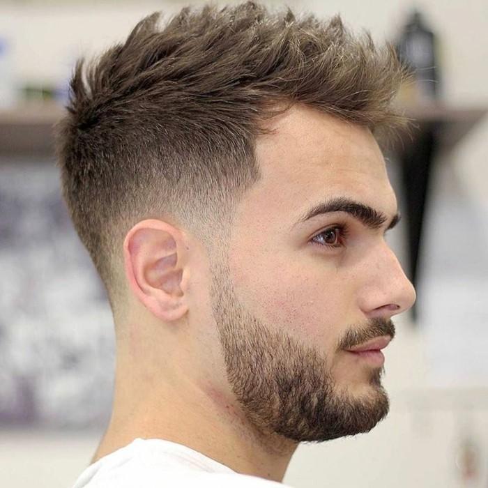coupe de cheveux homme cheveux epais