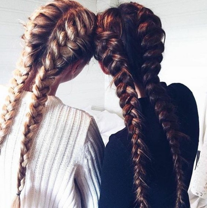 cheveux-chatain-meche-caramel-filles-coiffure-moderne