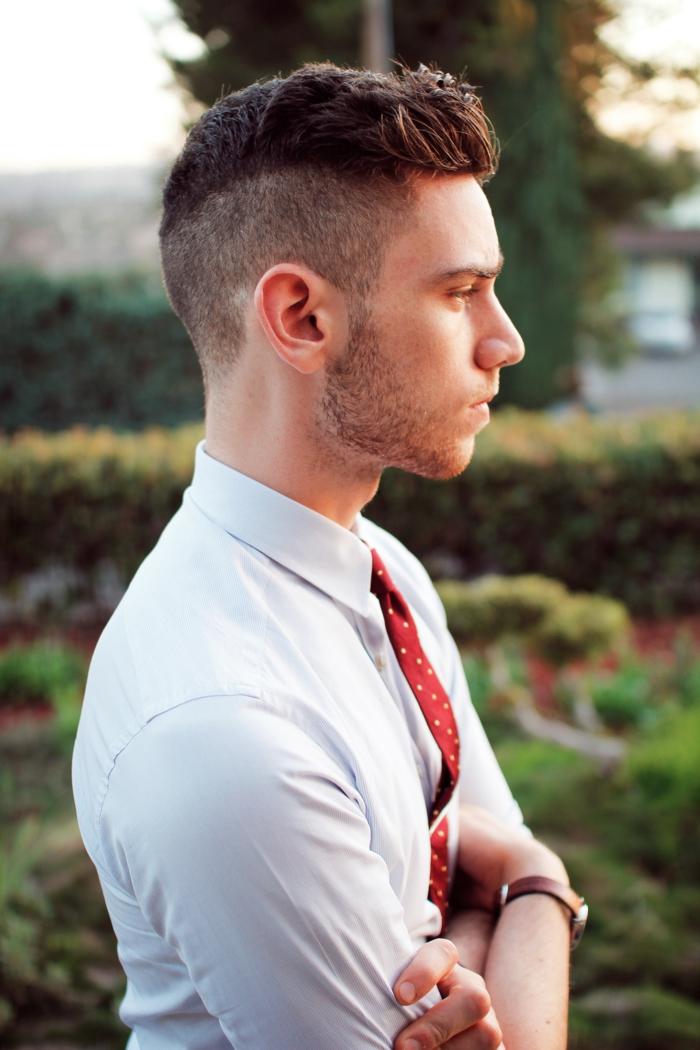 Coiffure Ado Garçon Cheveux Bouclés