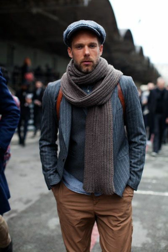 Une écharpe pour homme - quelle est la meilleure option pour vous ... 2f6ce47c735