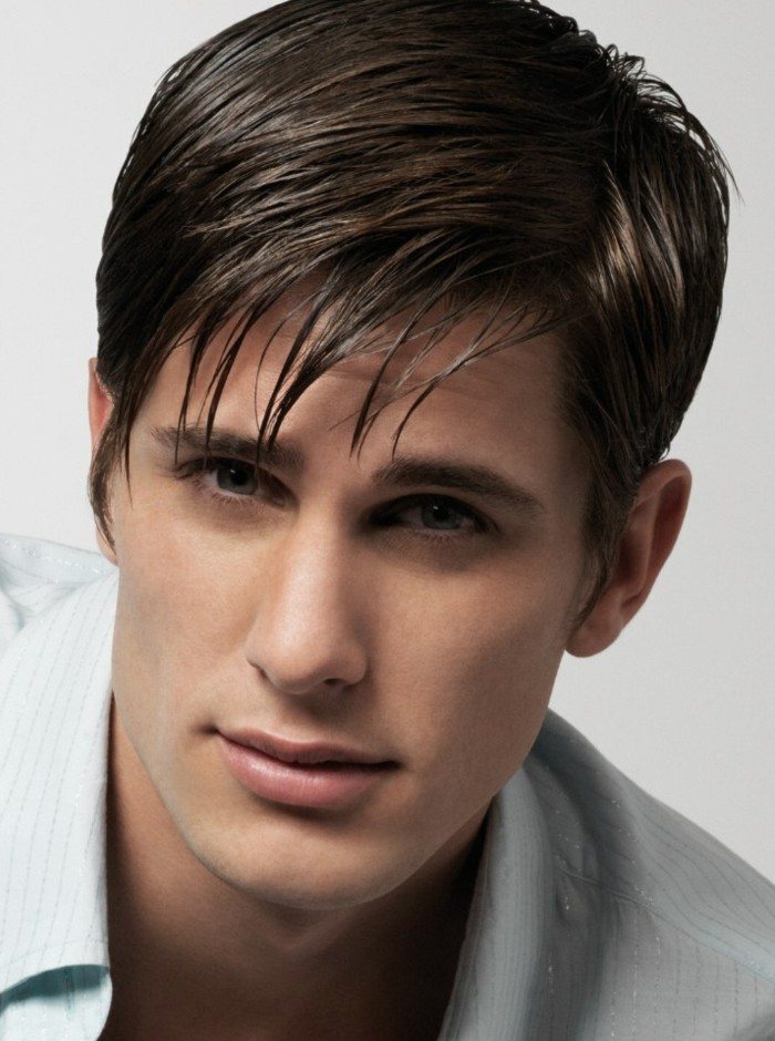 coupe de cheveux court homme - coiffure dégradé homme