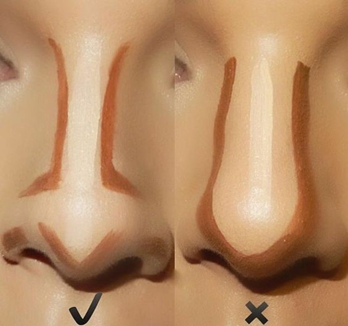 comment-contouring-le-nez-idee-maquillage-facile-tuto