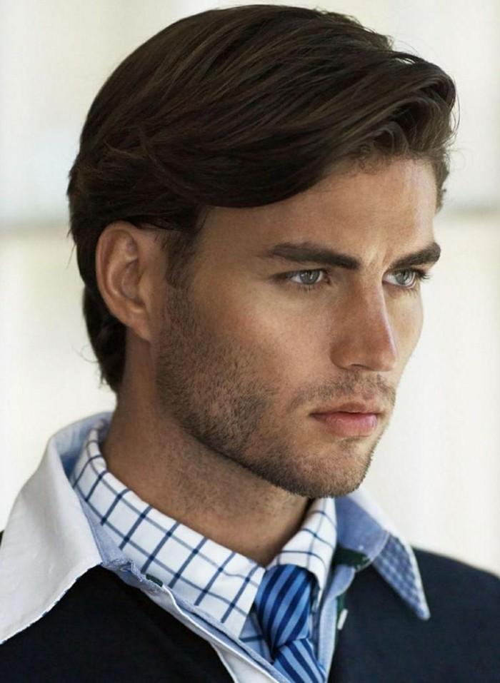 coupe de cheveux homme moyen