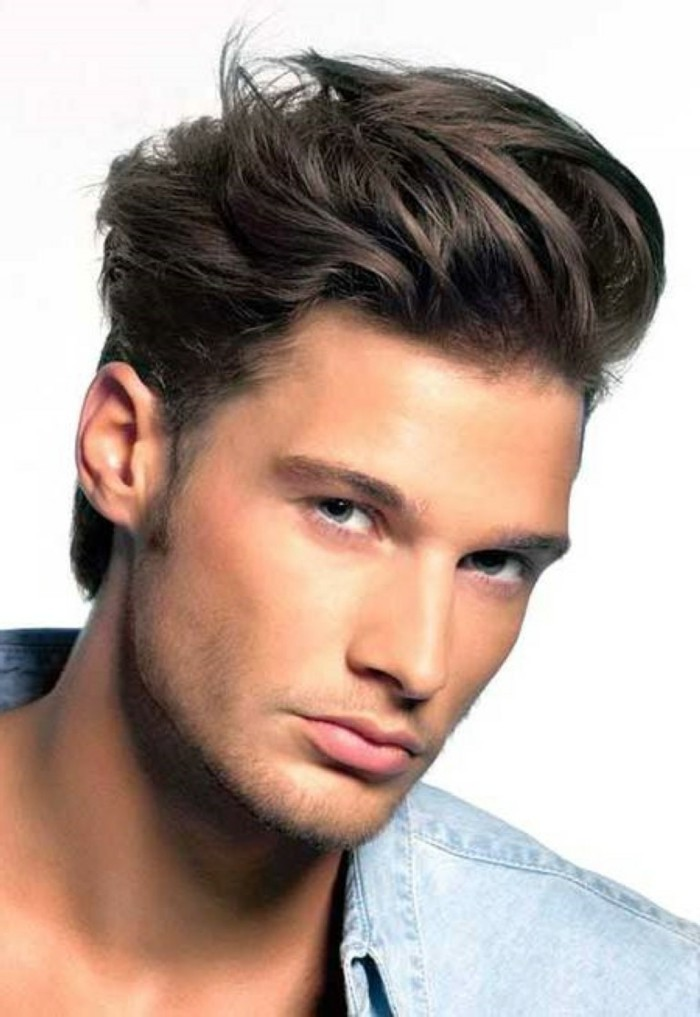 coiffure homme cheveux epais