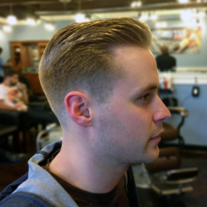 coupe-de-cheveux-homme-dégradé-Coupe-de-cheveux-court-homme