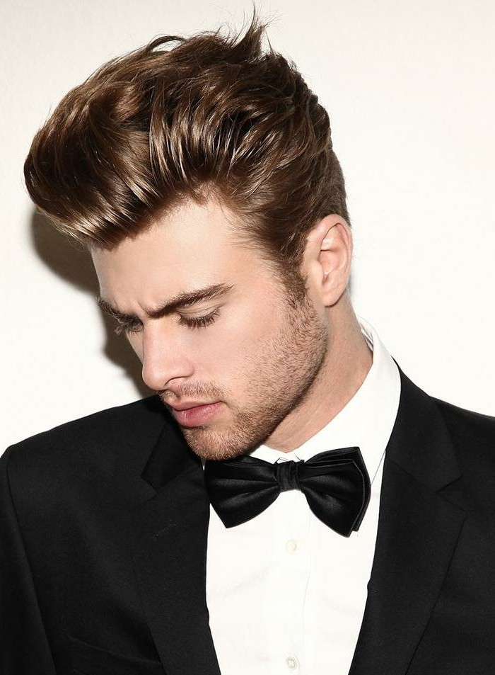 Coiffure Homme Long Dessus Degrade