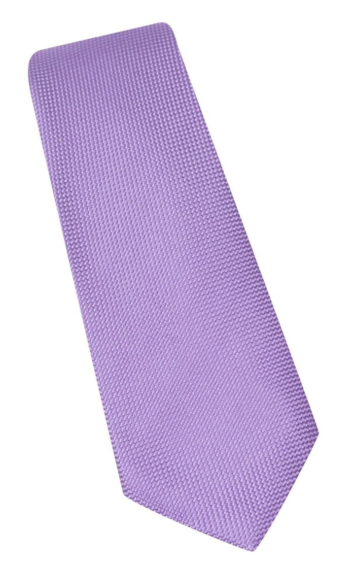 cravates-en-soie-parme-violet-claire-