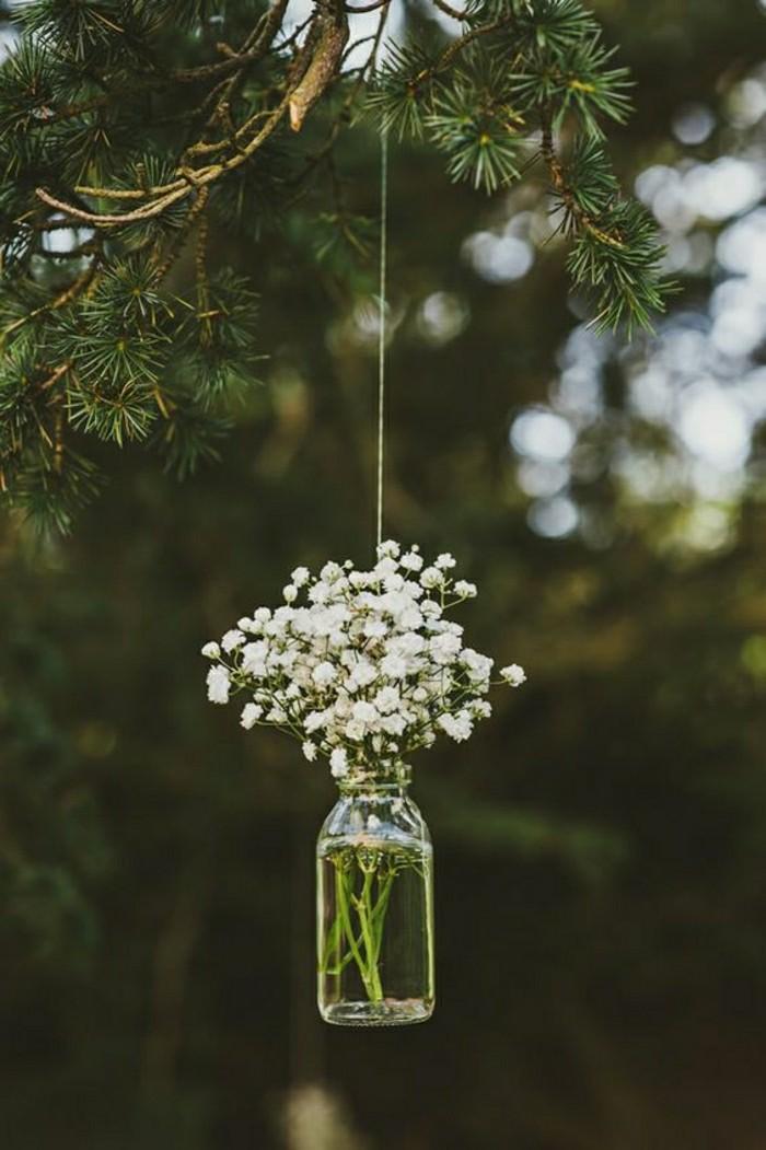 déco-de-table-mariage-diy-pour-décoration-de-mariage-champetre-foret-vert
