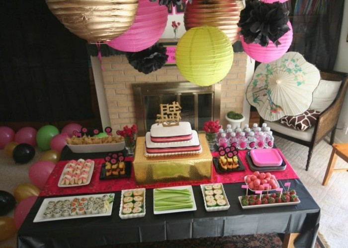Anniversaire Decoration Table