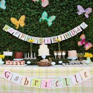Déco table anniversaire - astuces et conseils en 71 photos!