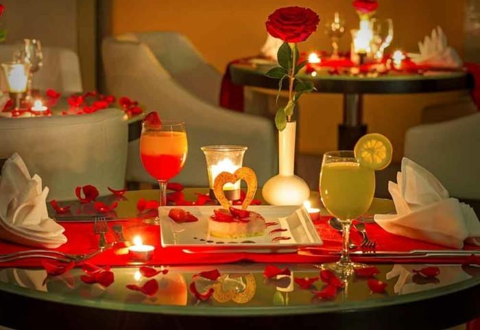 deco table st valentin - deco saint valentin