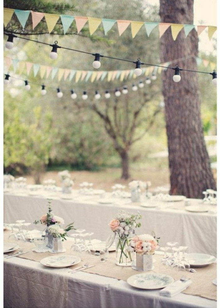 Diy d co de table mariage total 30 eur - Site decoration pas cher ...