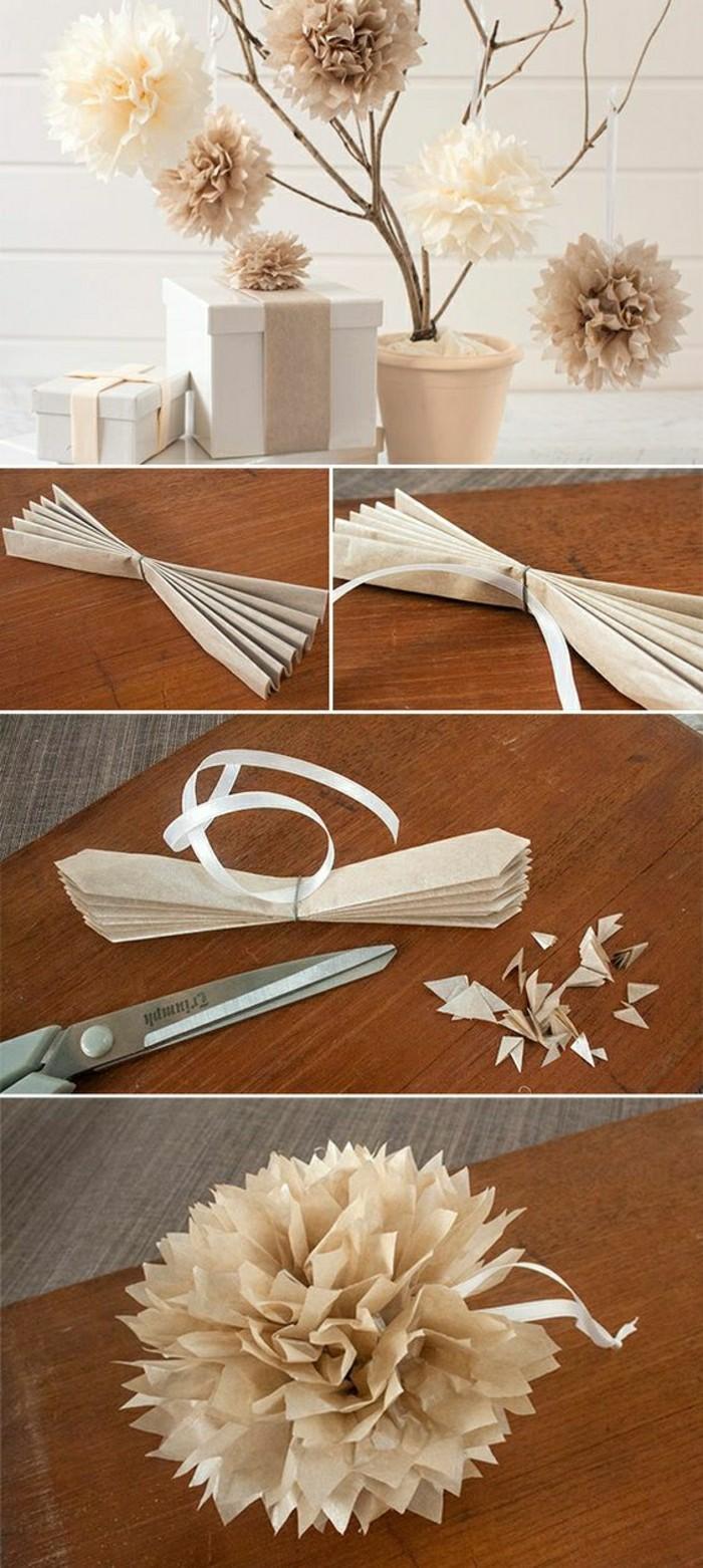 decoration-mariage-pas-cher-en-papier-blanc-diy-deco-en-papier-table-mariage