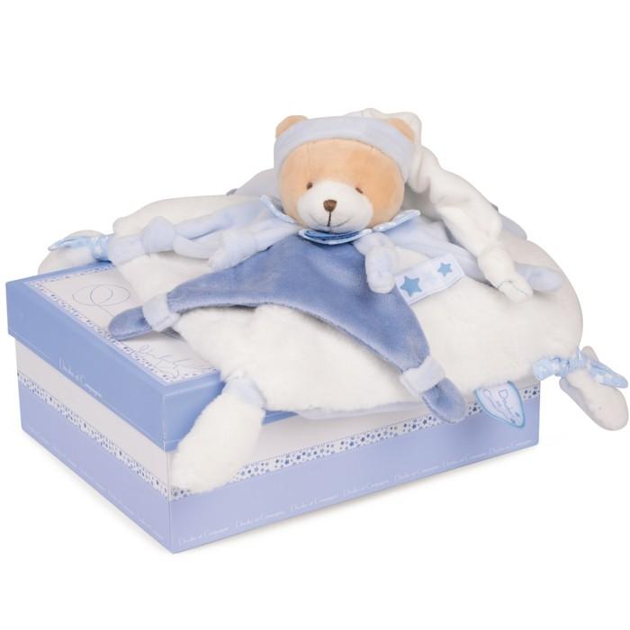 doudou-bébé-Aubert-lapinou-en-bleu-et-blanc-resized
