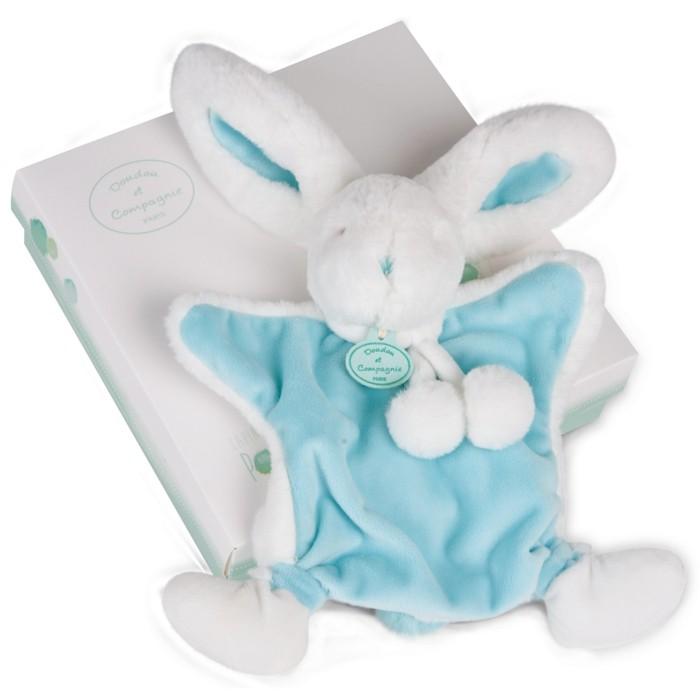 doudou-bébé-Aubert-un-lapin-en-blanc-et-bleu-compagnie-resized
