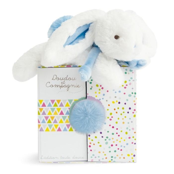 doudou-bébé-coucou-petit-lapin-en-blanc-et-bleu-Aubert-resized