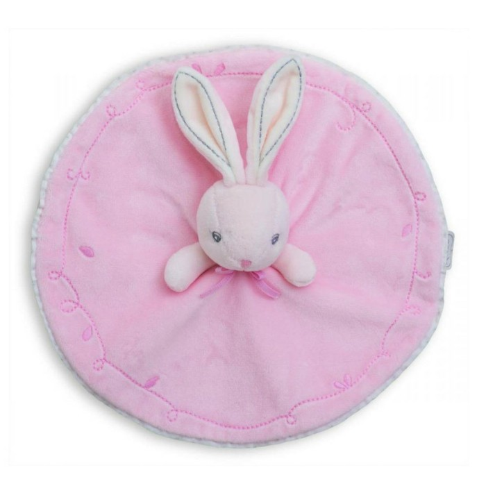 doudou-bébé-lapin-rose-a-la-base-ronde-Aubert-resized