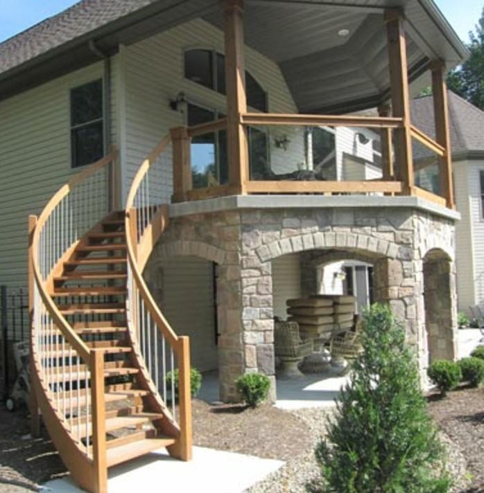 escalier-extérieur-bois-design-escalier-quart-tournant-exterieur