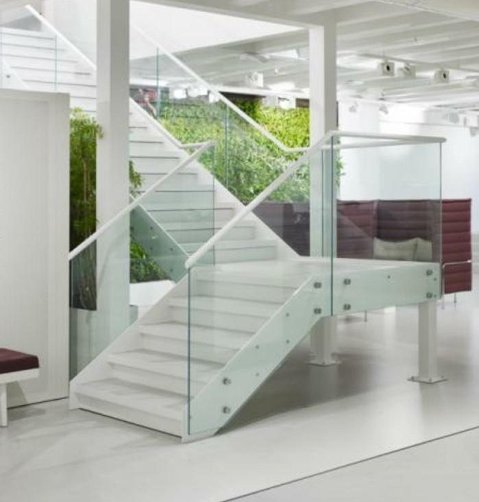 L 39 escalier ext rieur en 57 photos qui vous feront r ver - Salon exterieur blanc ...