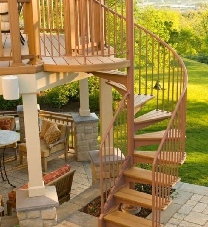 Escalier Jardin Kit Escalier Terrasse Bois Kit Diverses Id Es De