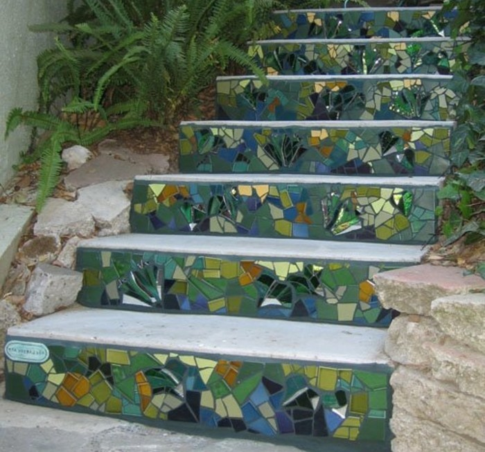 L 39 escalier ext rieur en 57 photos qui vous feront r ver for Marche escalier exterieur jardin