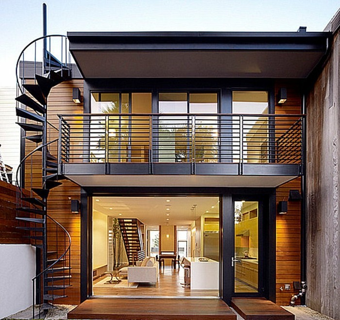 L 39 escalier ext rieur en 57 photos qui vous feront r ver for Exterieur maison moderne
