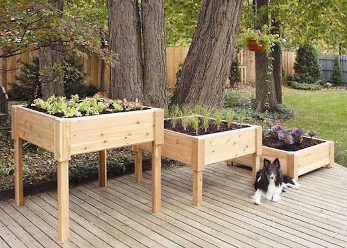 Fabriquer Une Jardiniere En Bois Mode D Emploi Et 35 Belles Idees