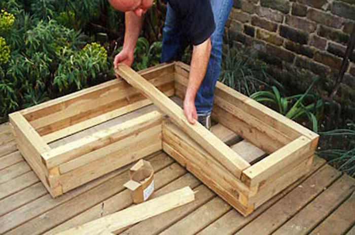 Fabriquer Une Jardiniere En Bois Mode D Emploi Et 35