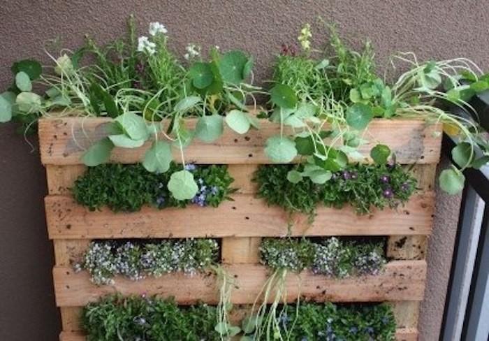fabriquer-une-jardinière-en-palette-en-bois-pas-cher