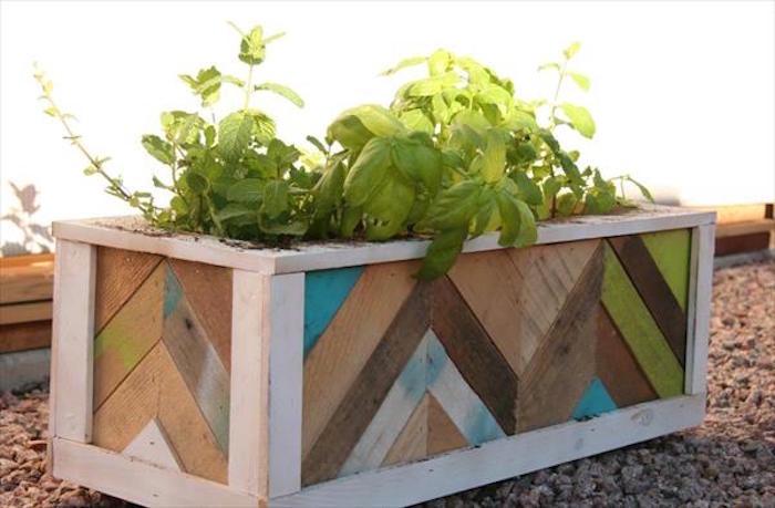 Fabriquer une jardini re en bois mode d 39 emploi et 35 - Lit en palette mode d emploi ...