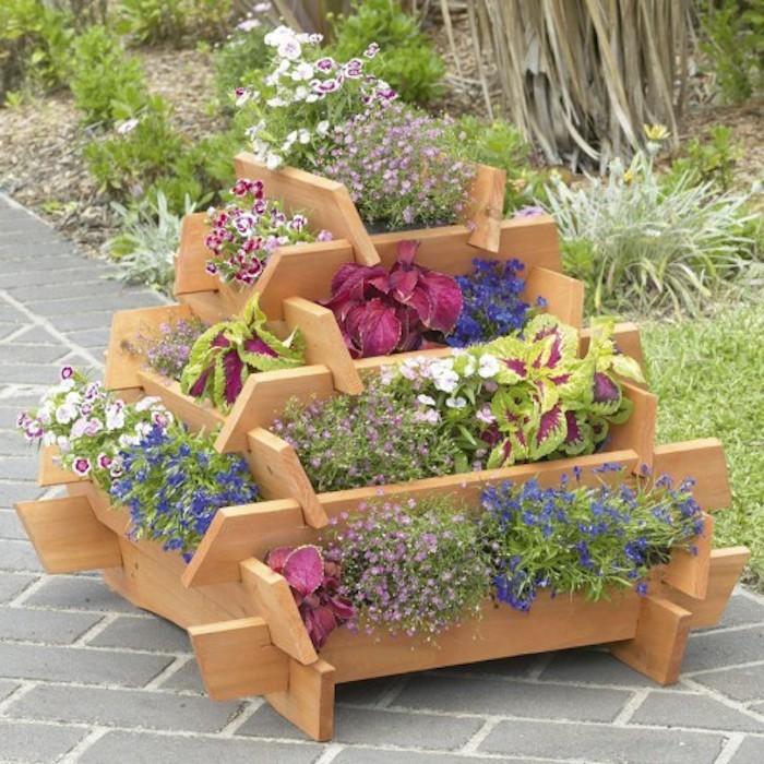 Fabriquer Une Jardinière En Bois Mode D Emploi Et 35 Belles Idées